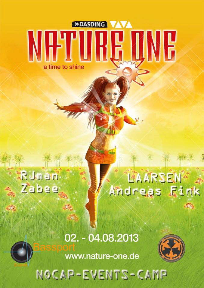 Nature One 2013 - A TIME TO SHINE Logo